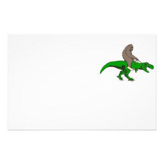 Papelaria Bigfoot que monta T Rex