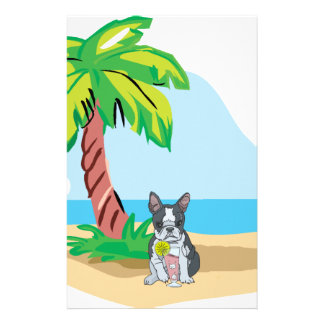 Papelaria Boston tropical Terrier