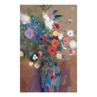 Papelaria Buquê das flores - Odilon Redon