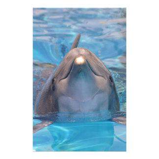Papelaria Cabeça do golfinho de bottlenose