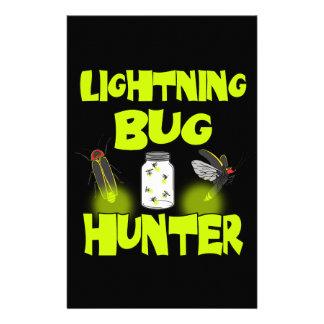 Papelaria caçador do inseto de relâmpago