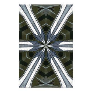 Papelaria caleidoscópio abstrato