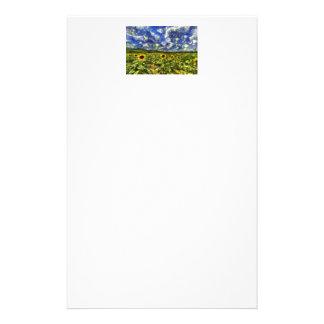 Papelaria Campo Van Gogh do girassol