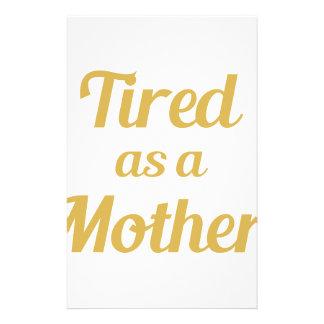 Papelaria Cansado como uma mãe