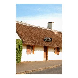 Papelaria Casa de campo de Robert Burns, Alloway, Scotland