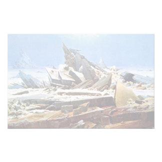 Papelaria CASPAR DAVID FRIEDRICH - o mar do gelo 1824