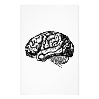 Papelaria cérebro humano