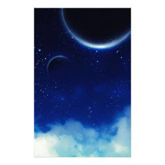Papelaria Céu nocturno estrelado