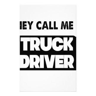 Papelaria chamam-me um camionista