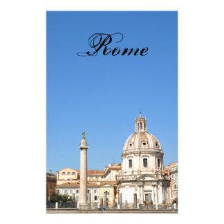 Papelaria Cidade antiga de Roma, Italia