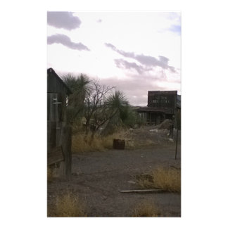 Papelaria Cidade fantasma ocidental do país de origem