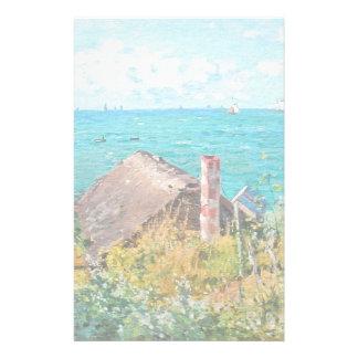 Papelaria Claude Monet a cabine em belas artes do