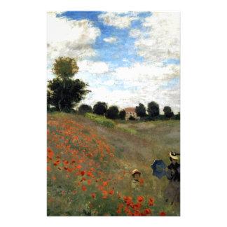Papelaria Claude Monet - Les Coquelicots