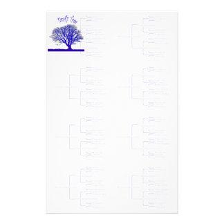 Papelaria Coleção da árvore genealógica
