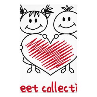 Papelaria coleção doce do amor