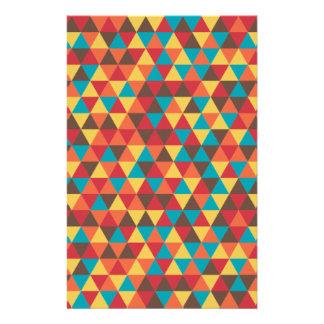 Papelaria Colorido triangular