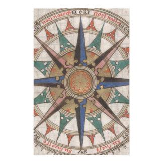 Papelaria Compasso náutico histórico (1543)