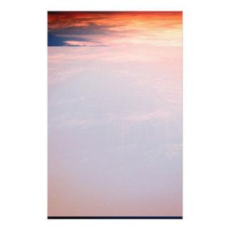 Papelaria Competindo nuvens