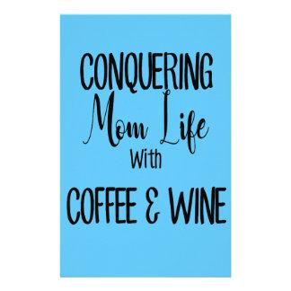 Papelaria Conquistando MomLife no café & no vinho