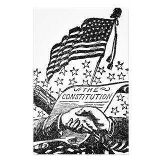 Papelaria Constituição de Estados Unidos