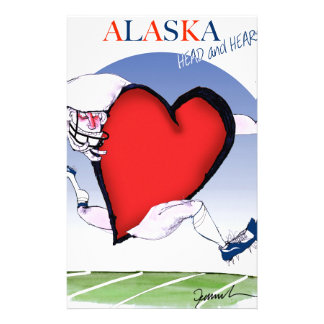 Papelaria coração principal de Alaska, fernandes tony