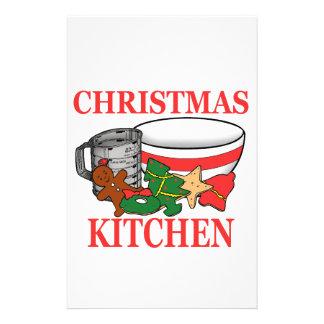 Papelaria cozinha do Natal