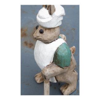 Papelaria Cozinheiro chefe do coelho