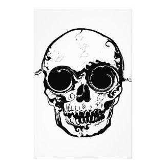 Papelaria crânio mais grande