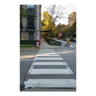 Papelaria Cruzamento de zebra da rua de Chicago