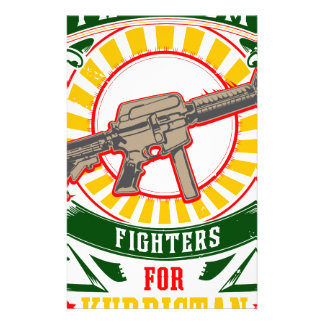 Papelaria CURDISTÃO - YPG - guerreiro da liberdade de YPJ