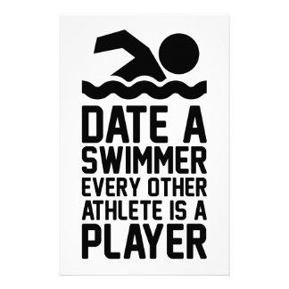 Papelaria Date um nadador