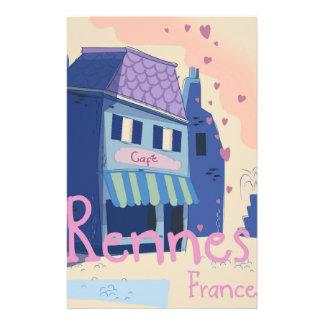 Papelaria Desenhos animados do vintage de Rennes France