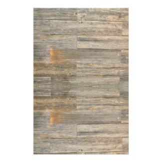 Papelaria Design de madeira rústico