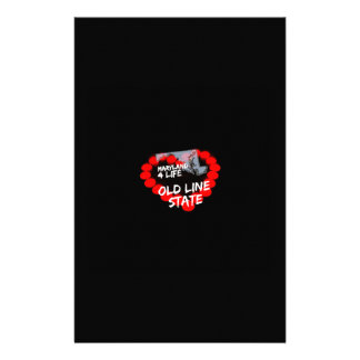 Papelaria Design do coração da vela para o estado de