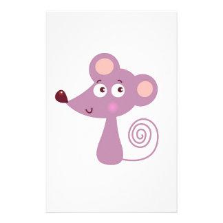Papelaria Design/rato dos miúdos no branco
