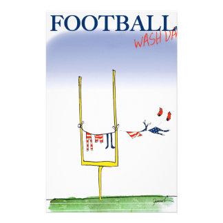 Papelaria Dia da lavagem do futebol, fernandes tony