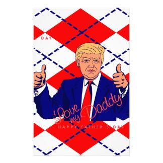 Papelaria dia dos pais Donald Trump