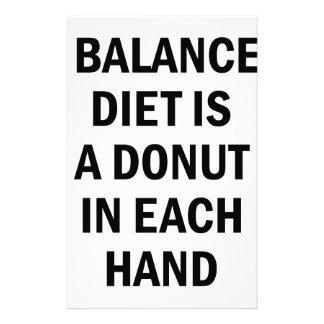 Papelaria Dieta equilibrada