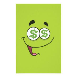Papelaria Dinheiro feliz Emoji