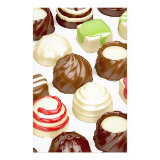 Papelaria Doces de chocolate