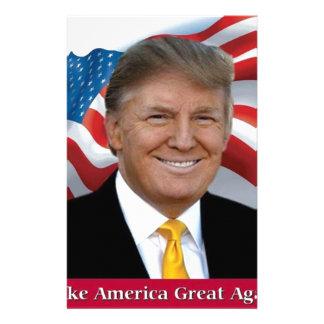 Papelaria Donald Trump faz o excelente de América outra vez