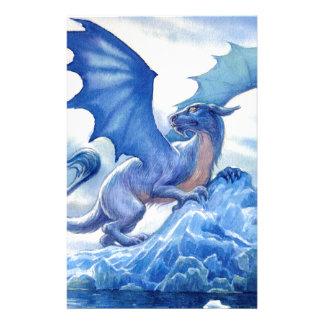 Papelaria Dragão azul feroz