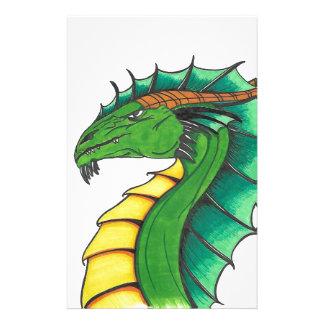 Papelaria Dragão tirado mão