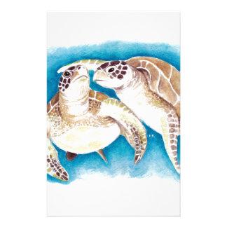 Papelaria Duas tartarugas de mar
