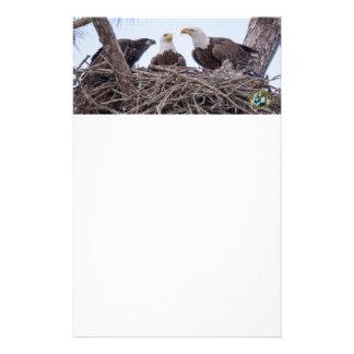 Papelaria E9 & papel de carta do costume da família