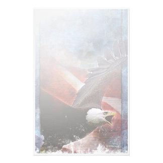 Papelaria Eagle-Papel de carta patriótico