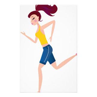 Papelaria Edição Running da menina