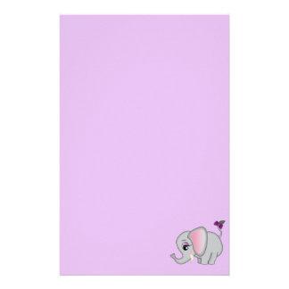 Papelaria Elefante bonito