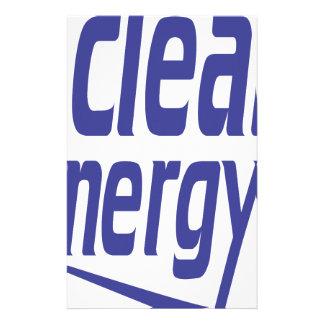 Papelaria Energia limpa