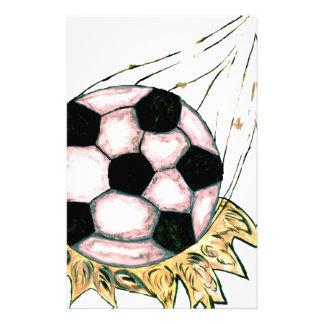 Papelaria Esboço da bola de futebol